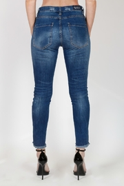 Bianco Jeans Pearl Studded Jean - Front full body