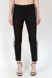 Bianco Jeans Side Snap Joggers - Product Mini Image