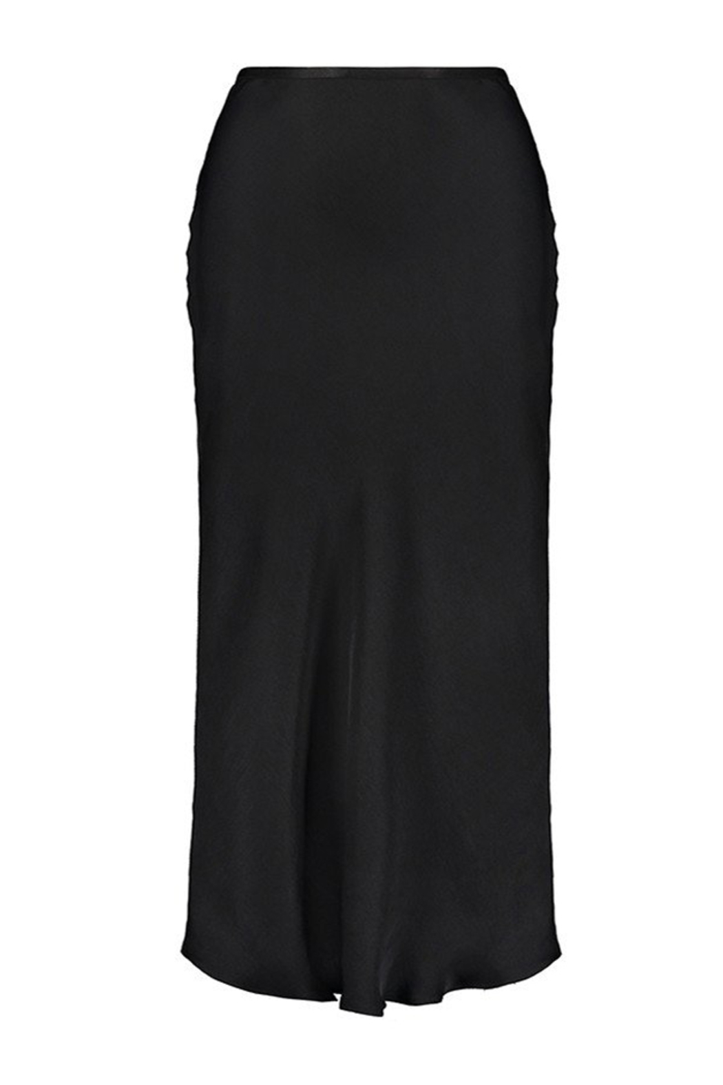 David Lerner  BIAS MIDI SKIRT - Back Cropped Image