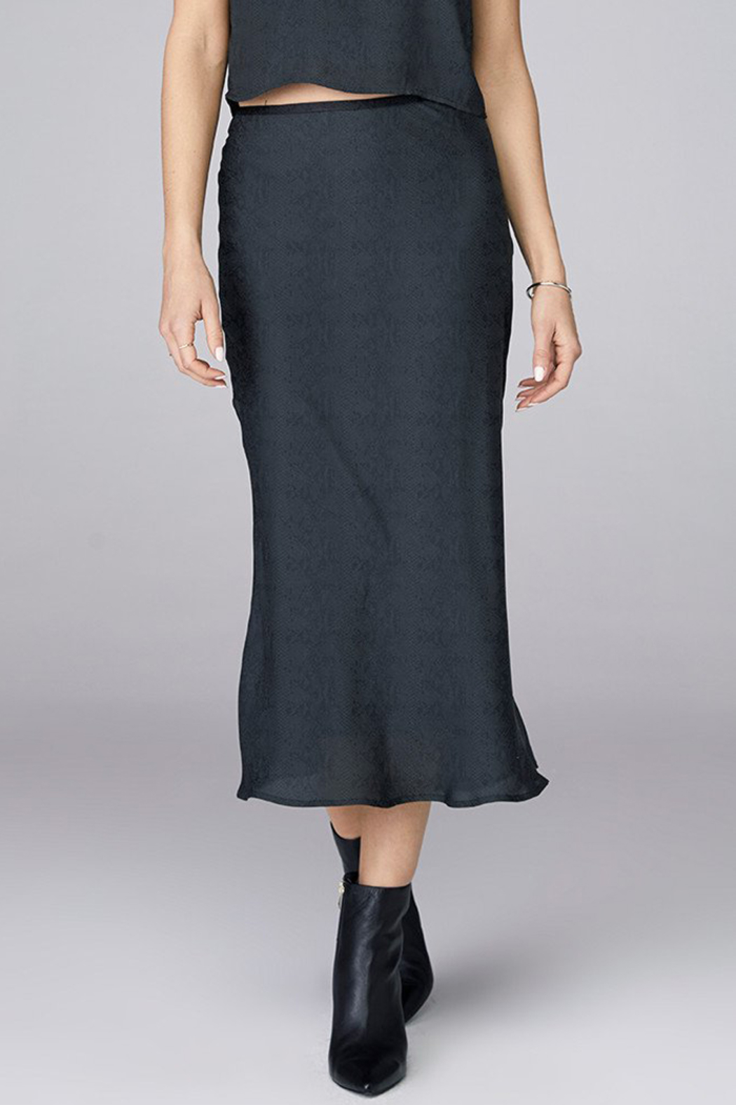 David Lerner  BIAS MIDI SKIRT - Main Image