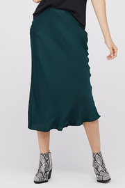 David Lerner BIAS MIDI SLIP SKIRT - Product Mini Image