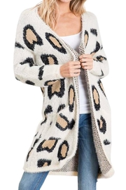 Bibi All Leopard Cardigan - Product Mini Image