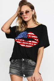 Bibi American Lips Tee - Product Mini Image