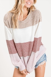 Bibi Color Block Sweater - Product Mini Image