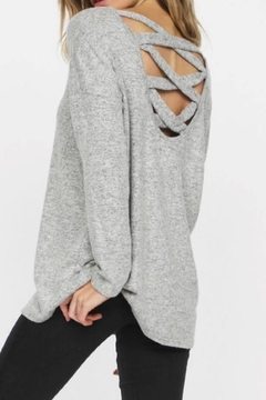 Bibi Grey Casual Top - Product List Image