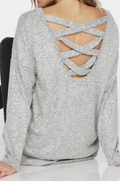 Bibi Grey Casual Top - Alternate List Image