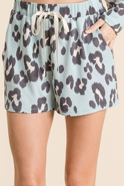 Bibi Leopard Lounge Shorts - Product Mini Image