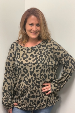 Bibi Leopard Top - Alternate List Image