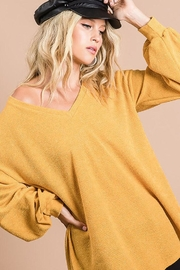 Bibi Soft Balloon Sleeve Top - Front cropped