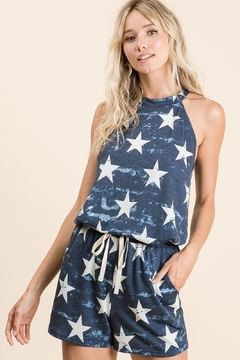 Bibi Stars Drawstring Shorts - Product List Image