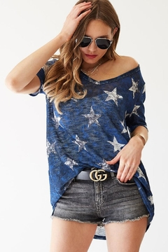 Bibi Stars Gauze Top - Alternate List Image
