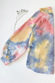 Bibi Super Soft Tie Dye Brushed Terry Top And Bottom Set - Other