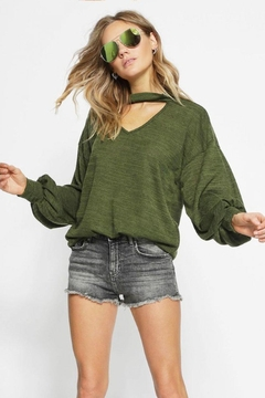 Bibi Sweater Knit Top - Product List Image