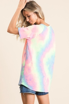 Bibi Tie Dye Casual Top - Alternate List Image