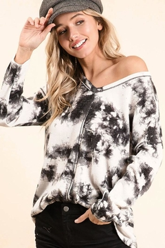 Bibi Timeless Tie Dye Top - Product List Image
