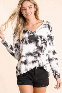 Bibi Timeless Tie Dye Top - Alternate List Image