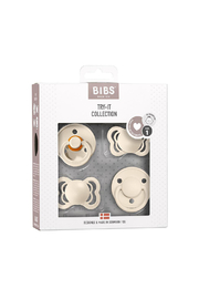 Bibs Pacifier Try-It Collection - Ivory - Product Mini Image