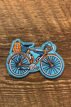 Noteworthy Paper & Press Bicycle Patch - Alternate List Image