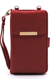Lyn -Maree's Bifold Wallet Crossbody Cell Phone Case - Product Mini Image