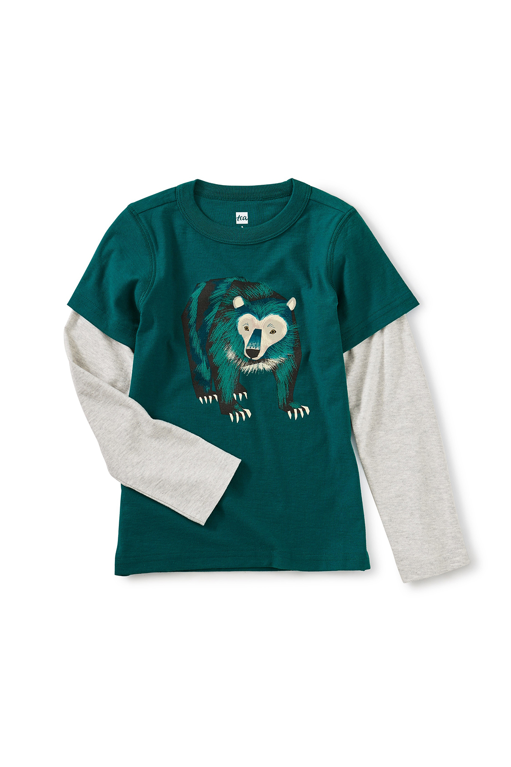 Tea Collection Big Bear Layered Tee - Main Image