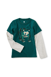 Tea Collection Big Bear Layered Tee - Product Mini Image