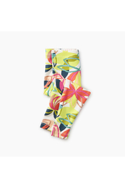 Tea Collection Big Blooms Baby Legging - Front cropped