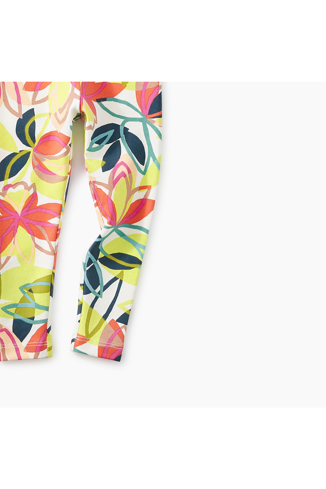 Tea Collection Big Blooms Baby Legging - Side Cropped Image