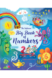 Usborne Big Book Of Numbers - Front cropped