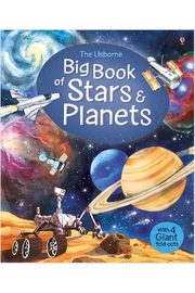 Usborne Big Book Of Stars & Planets - Front cropped