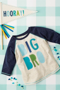 MudPie Big Bro Shirt & Pennant Set - Alternate List Image