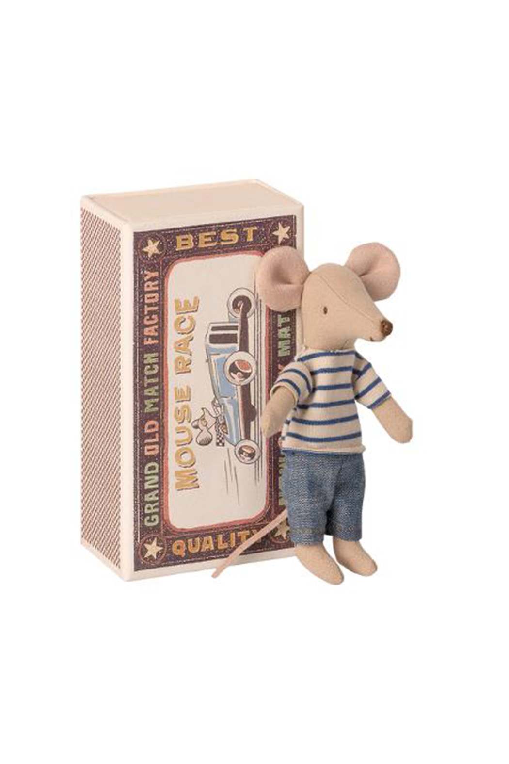 Maileg Big Brother Mouse In Matchbox - Main Image