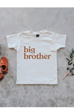 Gladfolk  Big Brother Organic Kids Tee - Alternate List Image