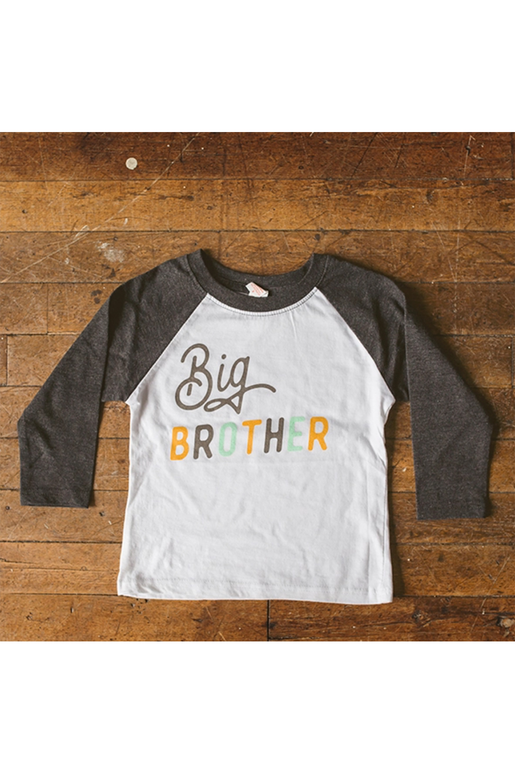Sweetpea and Co. Big Brother Raglan Tee - Main Image