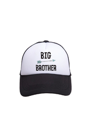 Tiny Trucker Big Brother Trucker Hat - Product Mini Image