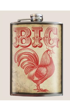 Trixie & Milo Big Cock  Vintage Flask - Alternate List Image