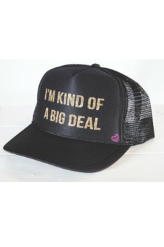 Mother Trucker Big Deal Trucker Hat - Alternate List Image