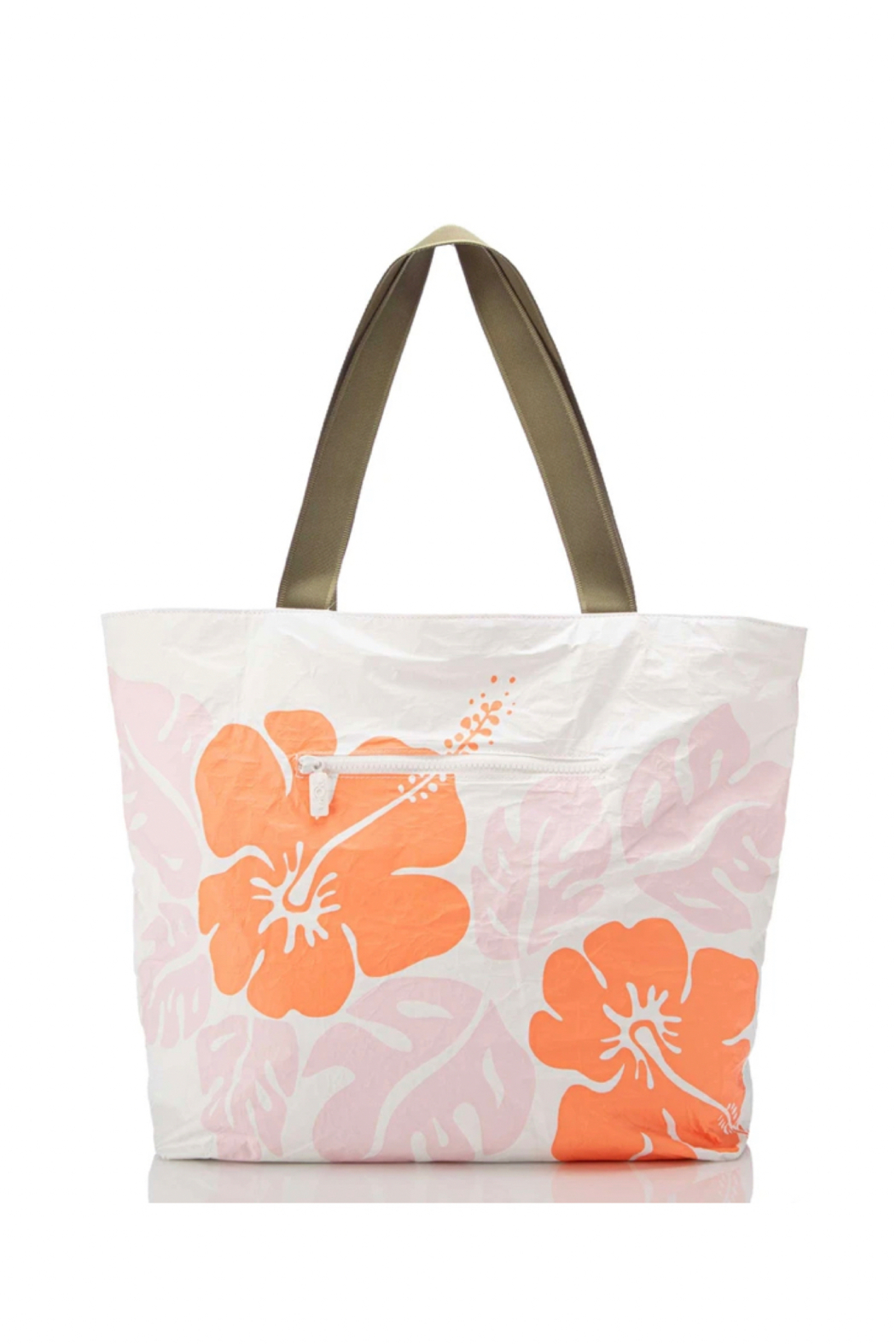 Aloha Collection Big Island Hibiscus Day Tripper - Back Cropped Image