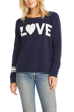 Chaser Big LOVE Pullover - Alternate List Image