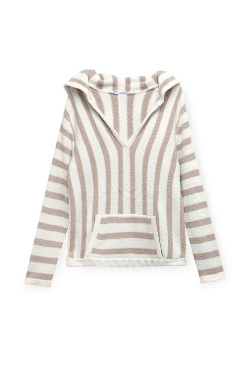 Astars Big Love Striped Soft Pullover - Side Cropped Image