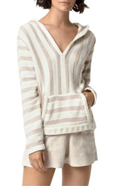 Astars Big Love Striped Soft Pullover - Product Mini Image