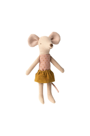 Maileg Big Sister Mouse In Matchbox - Front full body