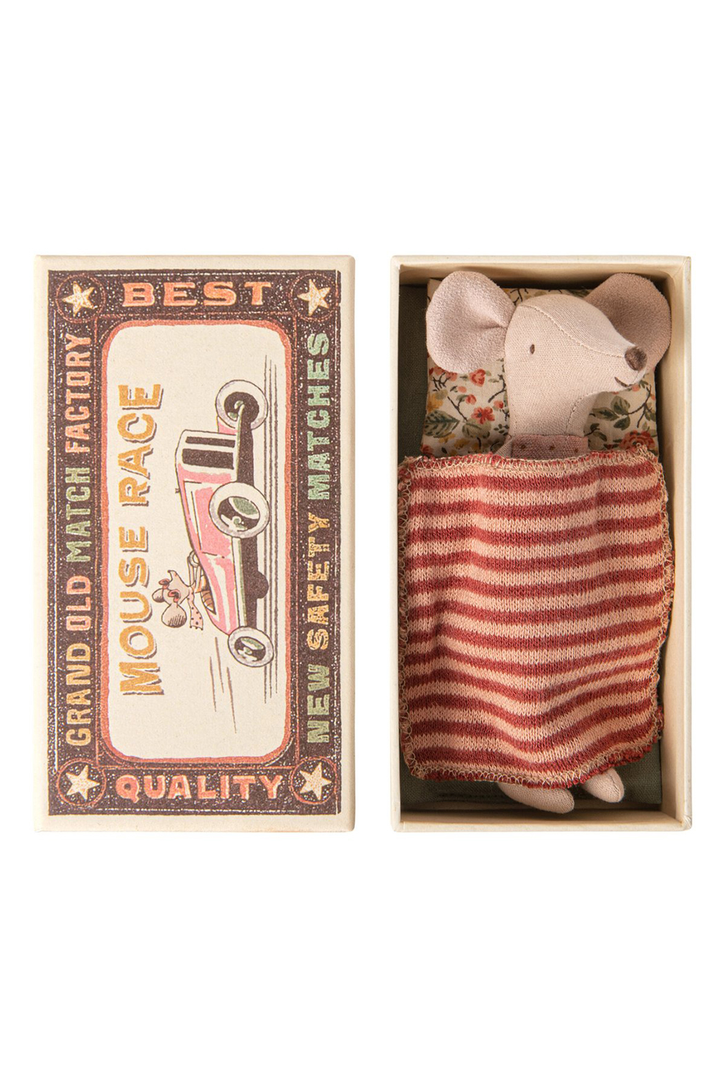 Maileg Big Sister Mouse In Matchbox - Main Image