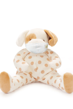 Bunnies by the Bay Big Skipit Buddy with Blue Pinstripe Face Mask - Alternate List Image