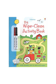 Usborne Big Wipe Clean Activity Book - Product Mini Image
