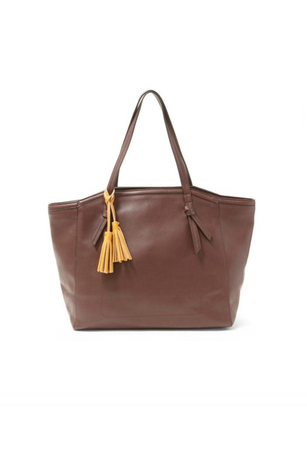 Big Buddha Arden Tote Bag - Front Cropped Image