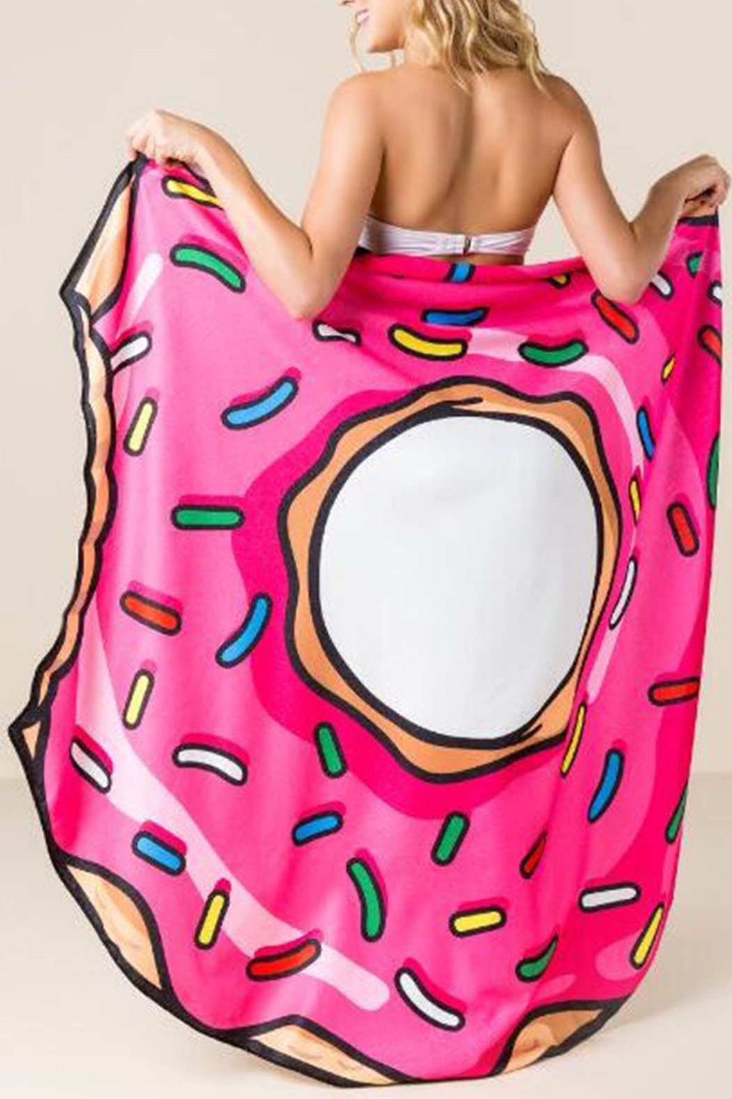 e25c0d2c38f BigMouth Inc Donut Beach Blanket Towel from Pennsylvania by The ...