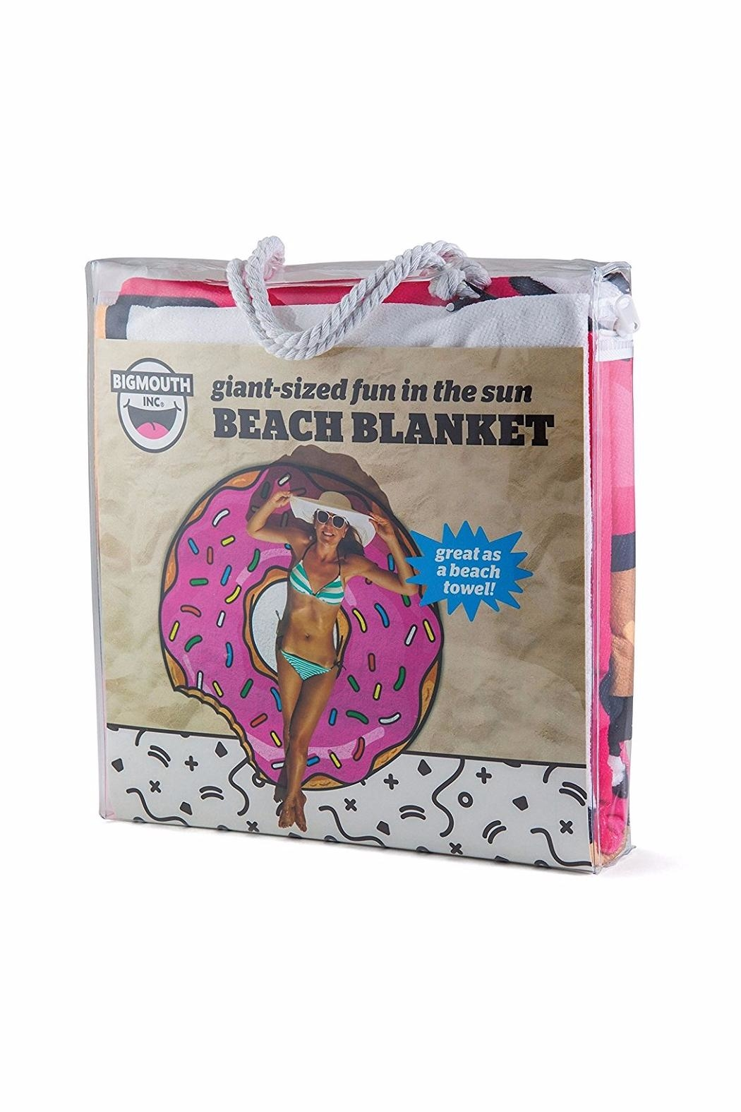 BigMouth Inc Donut Beach Blanket - Side Cropped Image