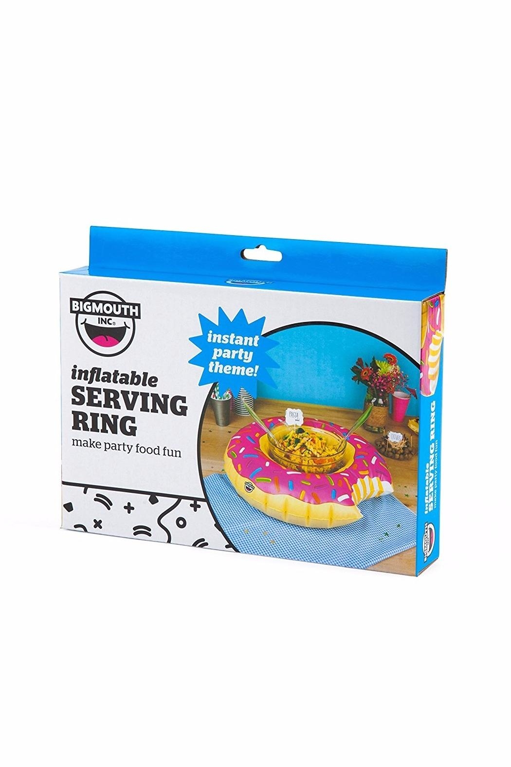BigMouth Inc Donut Serving Inflatable Ring - Side Cropped Image
