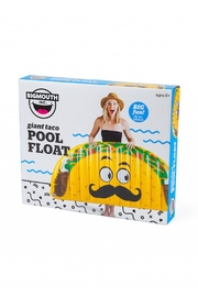 BigMouth Inc Giant Taco Pool Float - Side cropped