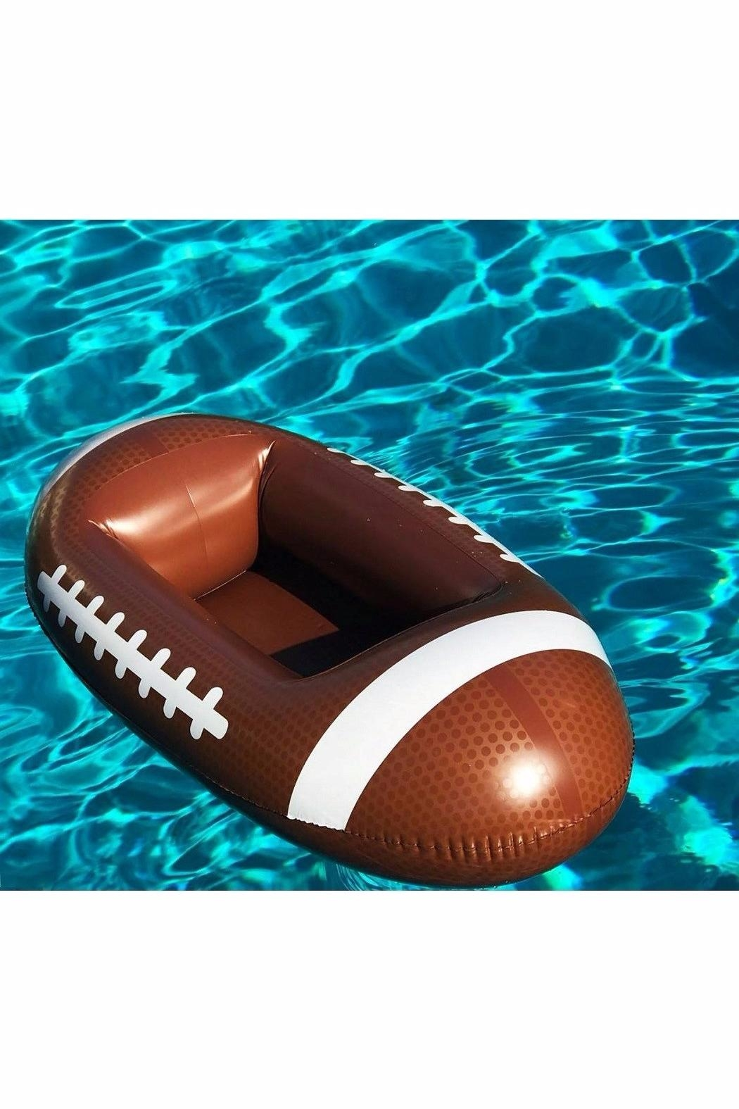 Exceptionnel BigMouth Inc Inflatable Football Cooler   Side Cropped Image